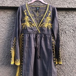 Embroidered Lucky Brand Dreas